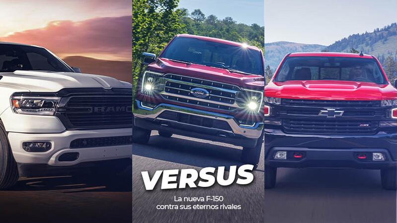 Versus: Ford F-150 vs RAM 1500 vs Chevrolet Silverado