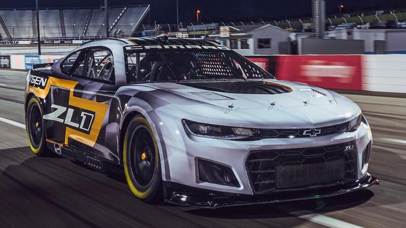 NASCAR: Chevrolet renueva el Camaro
