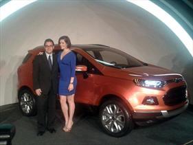 Así es la nueva Ford EcoSport que llegará a Argentina en 2012