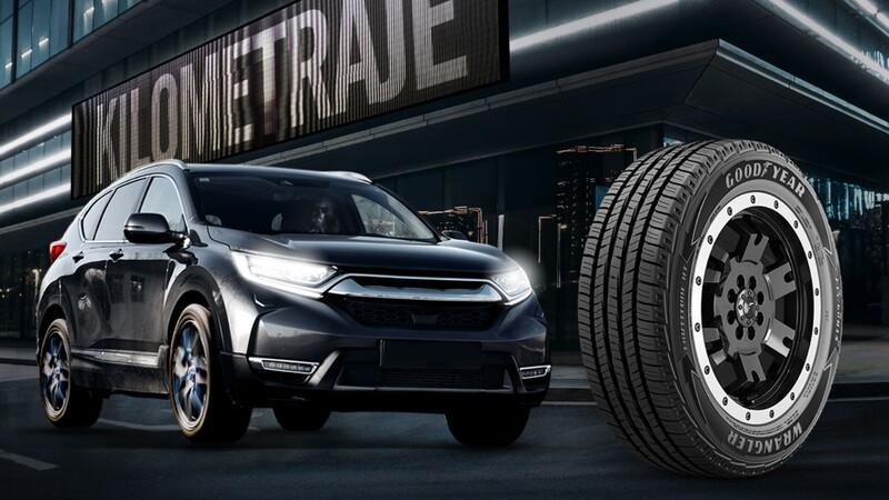 Goodyear amplía su gama con neumáticos para SUV y camionetas