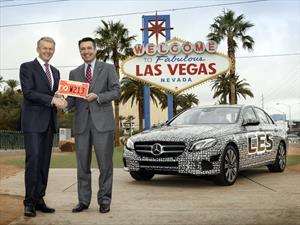 Mercedes-Benz Clase E 2017 realizará pruebas de conducción autónoma en Nevada