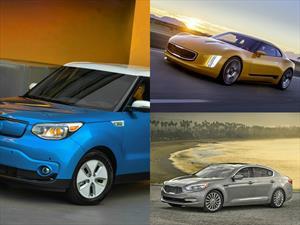 KIA es premiado por el diseño de sus autos
