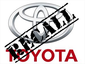 Toyota llama a revisión a 5.8 millones de unidades