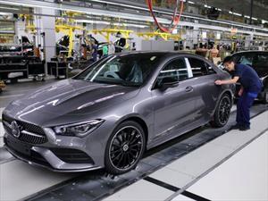 Mercedes-Benz inicia la producción del CLA Coupé 2020
