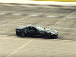 Este Corvette es el auto eléctrico más rápido del mundo