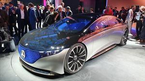Mercedes-Benz Vision EQS, adelanta cómo será el Clase S 100% eléctrico