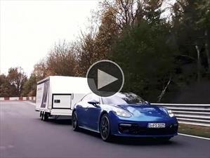 Video: Nuevo récord en Nürburgring... remolcando