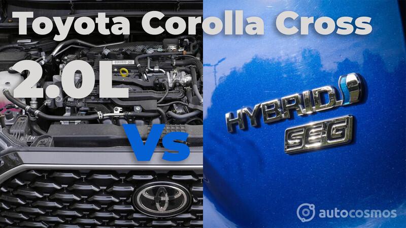 Corolla Cross 2.0L Vs. híbrido, ¿cuál conviene comprar?