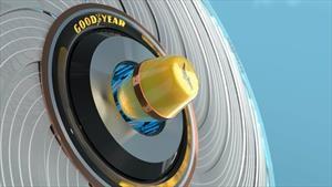 Goodyear crea un neumático que se auto regenera