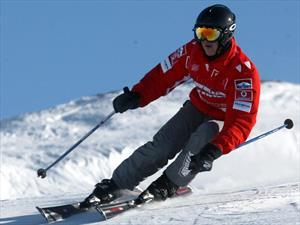 Schumacher se accidentó fuera de la pista de ski