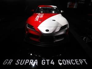 Toyota GR Supra GT4 Concept: pide pista