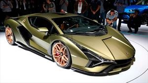 En 10 años, los Lamborghini tendrán baterías