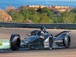 Fórmula E: DS trajo al campeón a probar su próximo monoplaza
