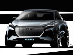Audi Q4 E-Tron Concept, con baterías