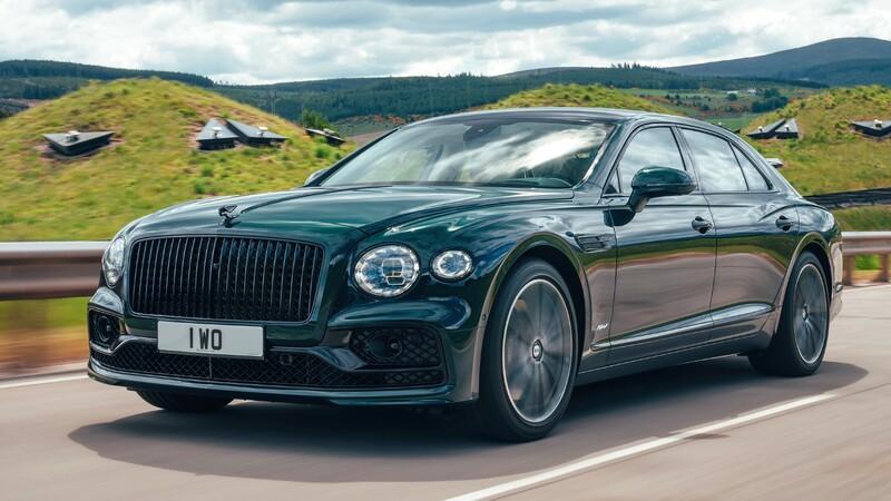 Bentley Flying Spur Hybrid: sedán híbrido y muy lujoso