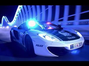 La policía de Dubái presume sus súper patrullas