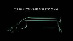 Ford prepara una versión 100% eléctrica de su camioneta Transit
