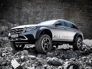 Mercedes-Benz Clase E All Terrain 4x4 2 para la aventura extrema familiar