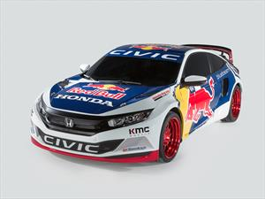 El Honda Civic Coupé se suma al Global Rallycross 2016