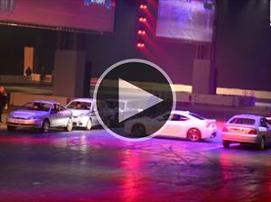 Subaru BRZ hace un giro de 360° en el espacio más reducido