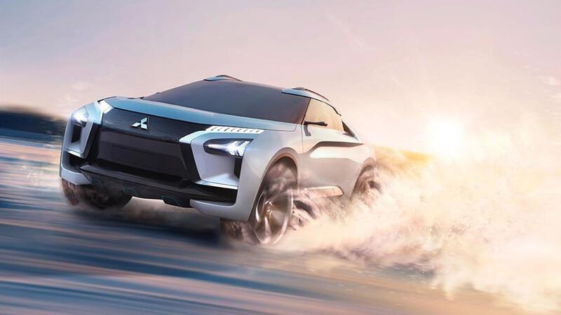 Mitsubishi también tendrá su propio SUV eléctrico, basado en el e-Evolution