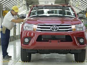 Toyota logra un incremento del 14% en su producción nacional