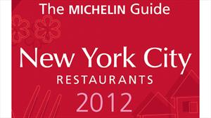 Michelin presenta su nueva guía New York City 2012