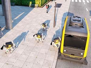 Sorpréndete con los perros robots de entrega de Continental