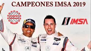 Juan Pablo Montoya se alza como campeón de IMSA