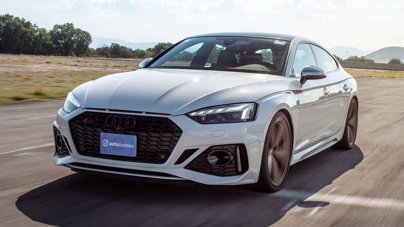 Manejamos el Audi RS 5 Sportback 2021