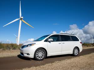 Toyota Sienna 2015 se convierte en la mejor minivan