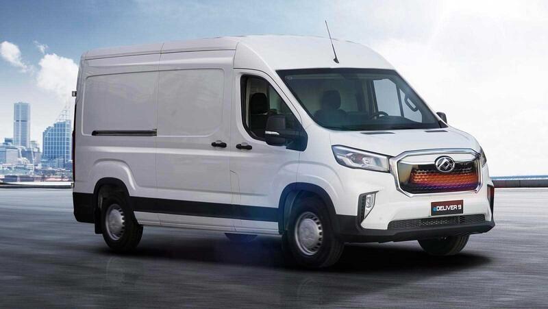 Maxus presenta en Chile su nueva gama Deliver 9 2022