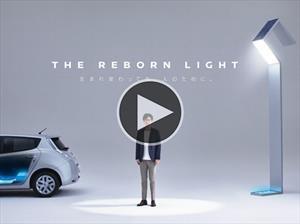 Video: Nissan reutiliza las baterías del Leaf para iluminar una ciudad