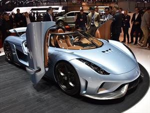 Koenigsegg Regera, el súper auto híbrido de 1,810 Hp sin caja de velocidades