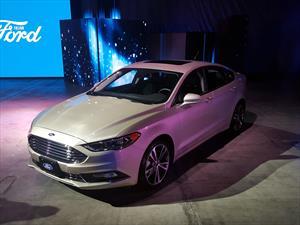 Ford Fusion 2017 debuta