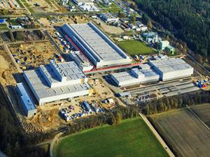 Audi abre una fábrica nueva en Alemania