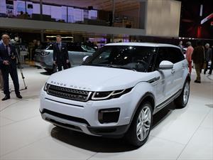 Range Rover Evoque 2016, evoluciona en diseño y tecnlogía