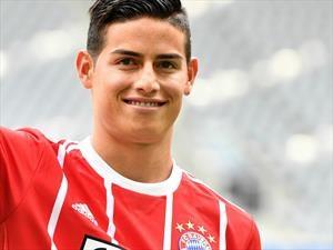 Goodyear celebra la llegada de James Rodríguez al Bayern Múnich