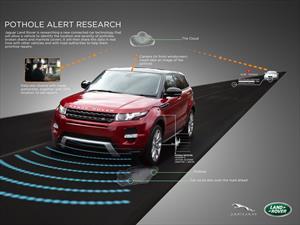 La siguiente generación de Land Rover detectará baches y dará aviso a las autoridades
