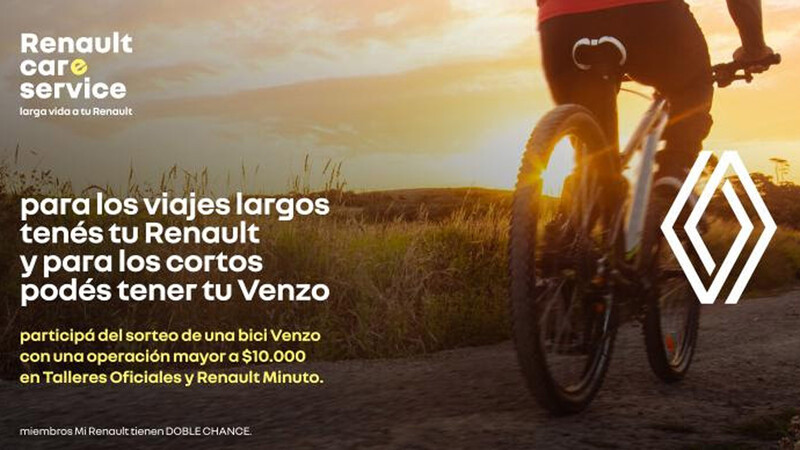 Ganate una bicicleta de la mano de Renault Argentina