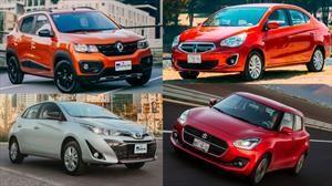 ¿No te alcanza para un híbrido? Descubre los autos más baratos y que consumen menos gasolina