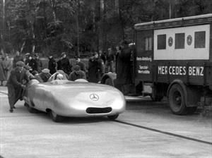 A 80 años del récord de velocidad del Mercedes-Benz Autumn 1936