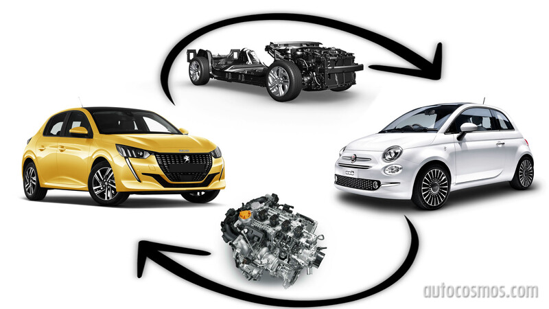 FIAT tendrá autos híbridos y eléctricos con la base del Grupo PSA
