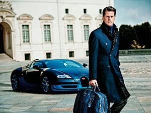 Armani presenta colección inspirada en Bugatti