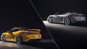 Porsche 718 Spyder y 718 Cayman GT4 2020 se presentan