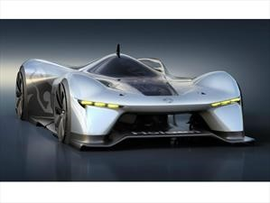 Holden Time Attack Concept visualiza a los autos de carreras del futuro