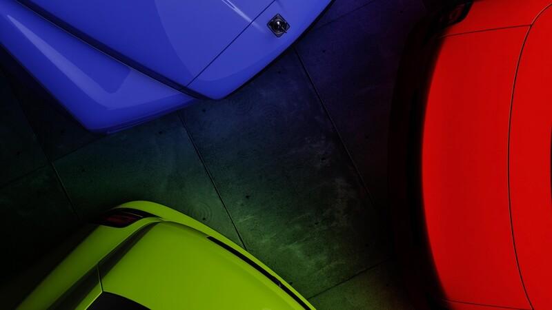 Rolls-Royce sigue los pasos de Lamborghini con una colección de colores fluorescentes