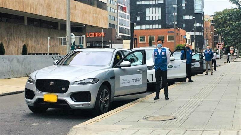 Jaguar Land Rover Colombia apoya a la Cruz Roja en lucha contra el covid-19