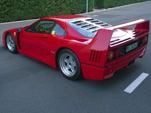 Una Ferrari F40 alcanza el millón de euros en una subasta