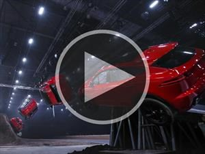 Video: Espectacular salto récord de la Jaguar E-Pace